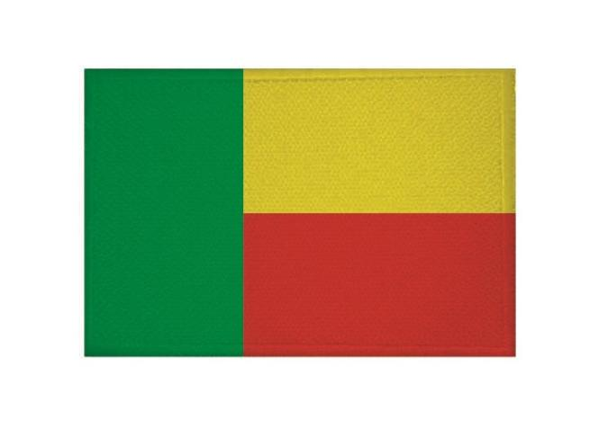 Aufnäher Benin Patch 9 x 6 cm