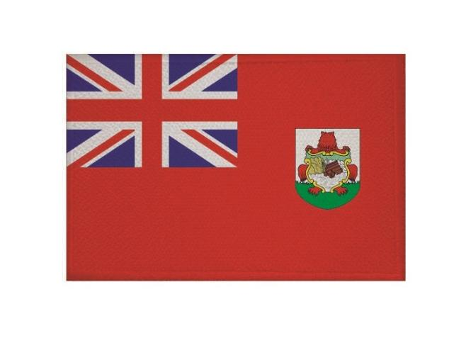 Aufnäher Patch Bermuda 9 x 6 cm