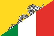 Aufkleber Bhutan-Italien