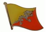 Pin Bhutan 20 x 17 mm