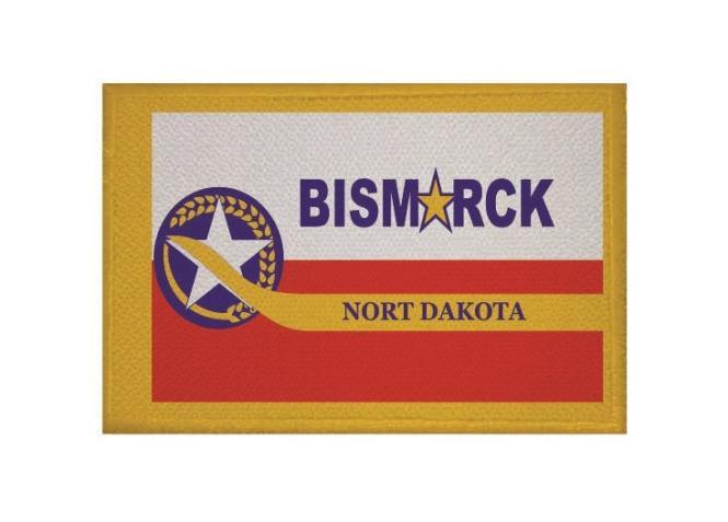 Aufnäher Patch Bismarck City 9 x 6 cm