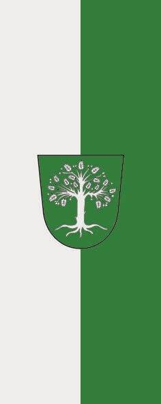 Flagge Bocholt im Hochformat