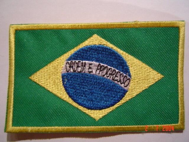 Aufnäher Brasilien