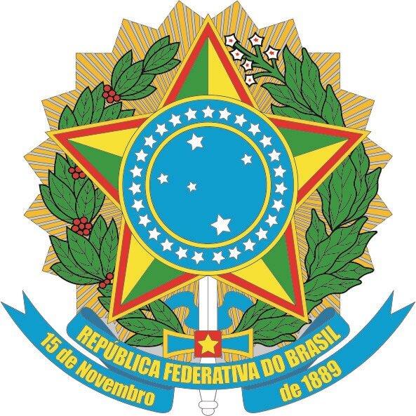 Aufkleber Brasilien Wappen
