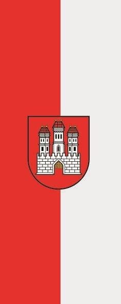 Flagge Bratislava im Hochformat