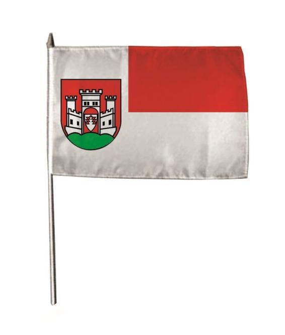 Stockflagge Büren (Westfalen) 30 x 45 cm
