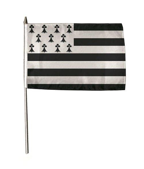 Stockflagge Bretagne 30 x 45 cm