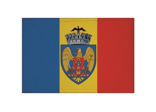 Aufnäher Bukarest Patch 9 x 6 cm