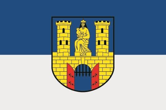 Flagge Burg Jerichower Land
