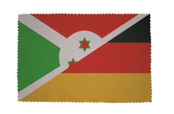 Glasreinigungstuch Burundi - Deutschland