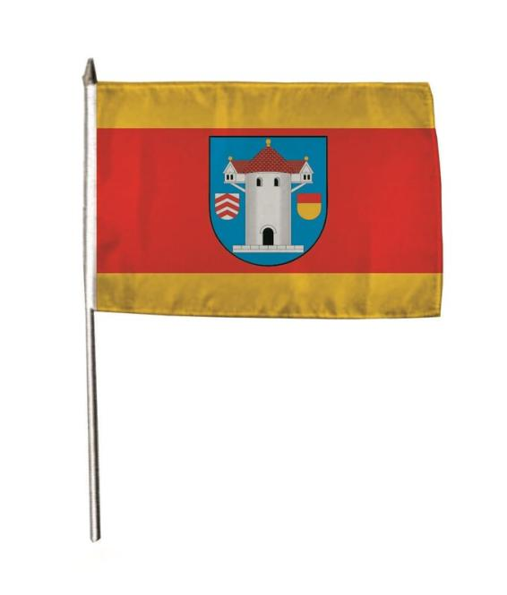 Stockflagge Butzbach 30 x 45 cm