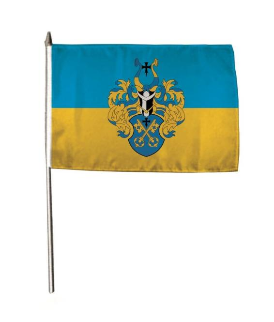 Stockflagge Buxtehude 30 x 45 cm
