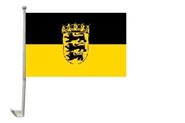 Autoflagge Baden-Württemberg 30 x 40 cm