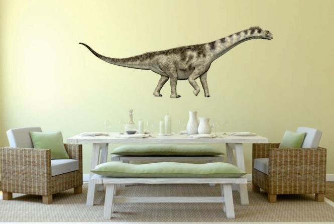 Wandtattoo Camarasaurus Color