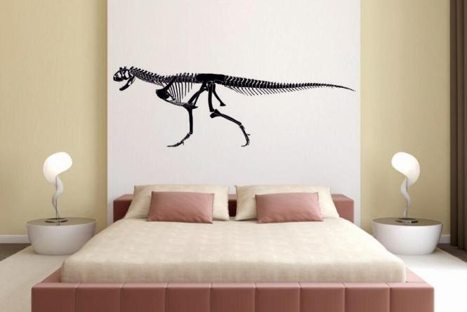Wandtattoo Carnotaurus Skelett