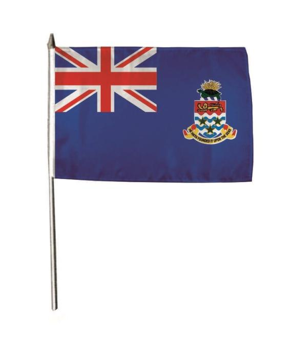Stockflagge Cayman Inseln 30 x 45 cm