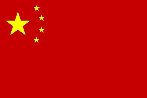 Aufkleber China
