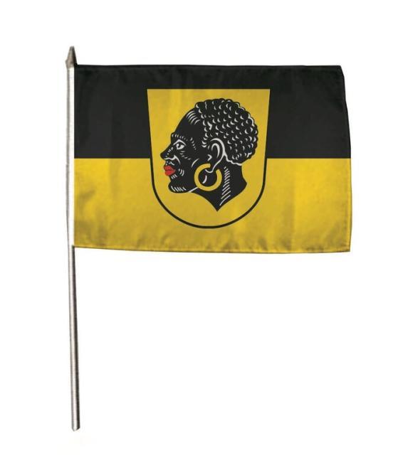 Stockflagge Coburg 30 x 45 cm