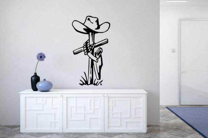 Wandtattoo Cowboy Grab