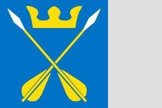 Flagge Dalarna 120 x 120 cm