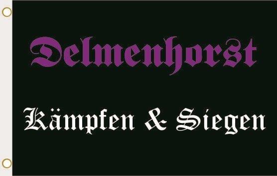 Fahne Delmenhorst Kämpfen & Siegen 90 x 150 cm