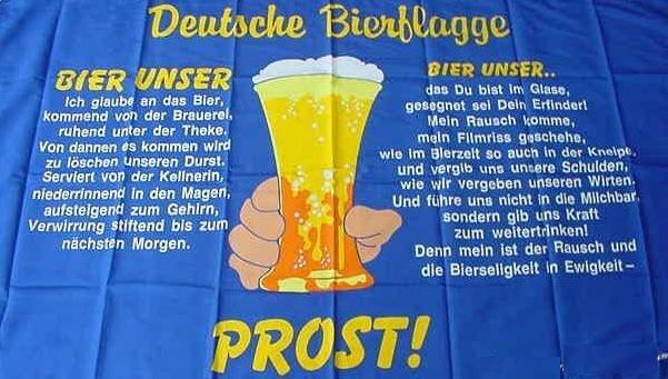 Fahne Deutsche Bierflagge 60 x 90 cm