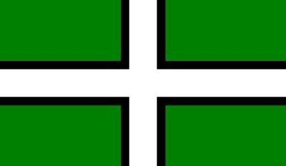 Flagge Devon