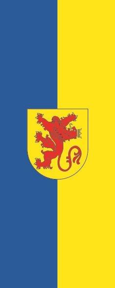 Flagge Diepholz im Hochformat