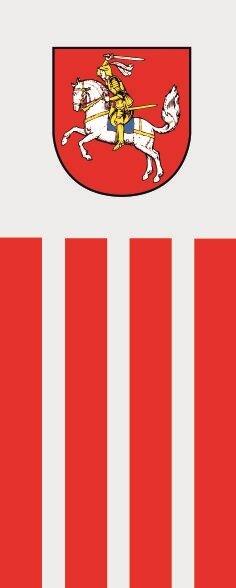 Flagge Dithmarschen im Hochformat
