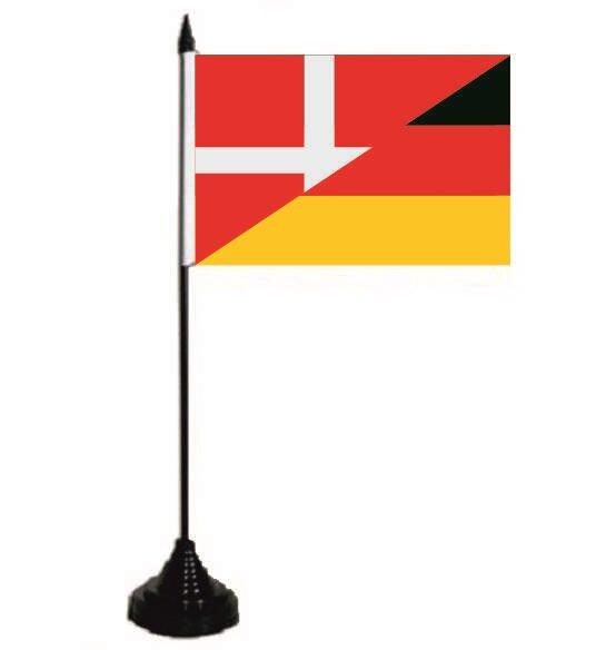 Tischflagge Dänemark - Deutschland 10 x 15 cm
