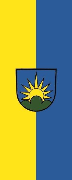 Flagge Dobel im Hochformat