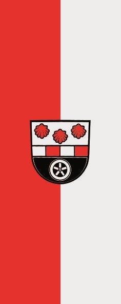 Flagge Dörzbach im Hochformat