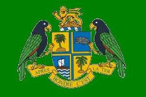 Flagge Dominica President