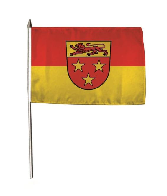 Stockflagge Donzdorf 30 x 45 cm