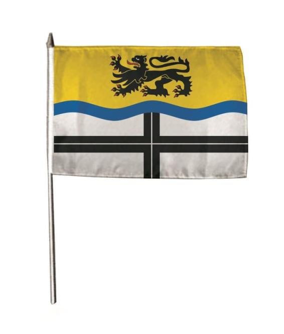 Stockflagge Dormagen 30 x 45 cm