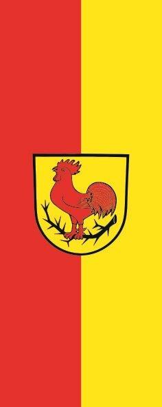 Flagge Dornhan im Hochformat