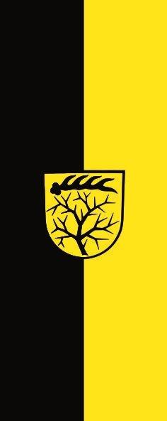 Flagge Dornstetten im Hochformat