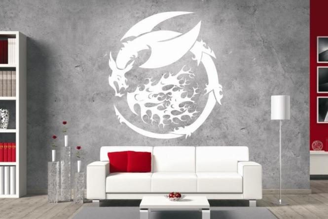 Wandtattoo Dragon Motiv Nr. 10