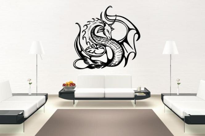 Wandtattoo Dragon Motiv Nr. 12