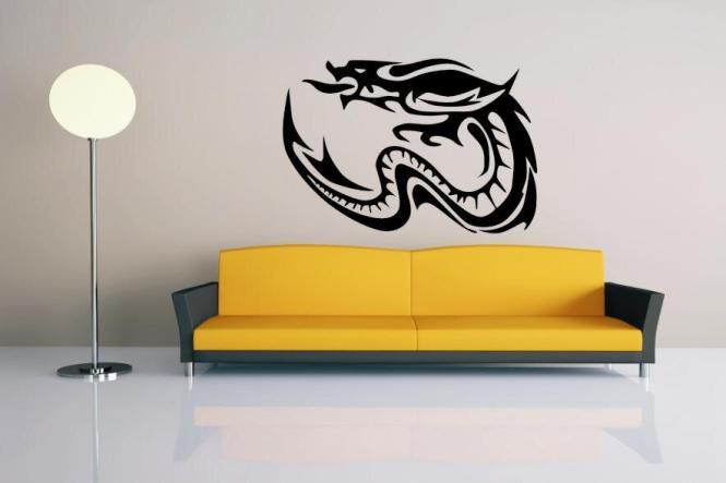 Wandtattoo Dragon Motiv Nr. 4