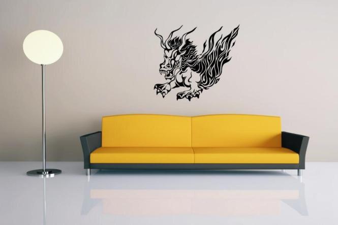 Wandtattoo Dragon Motiv Nr. 5