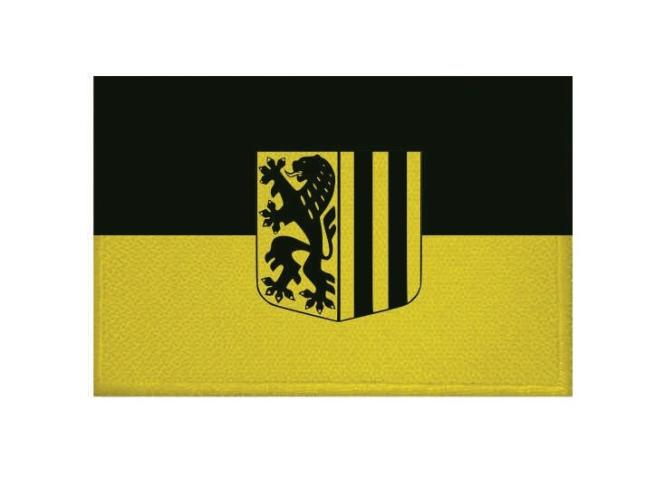 Aufnäher Patch Dresden 9 x 6 cm