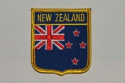 Wappenaufnäher New Zealand Neuseeland