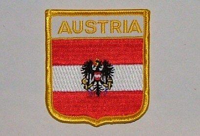 Wappenaufnäher Österreich Adler Austria