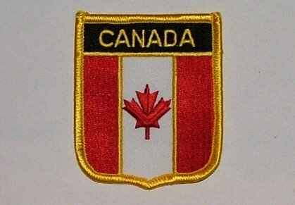 Wappenaufnäher Kanada Canada