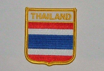 Wappenaufnäher Thailand