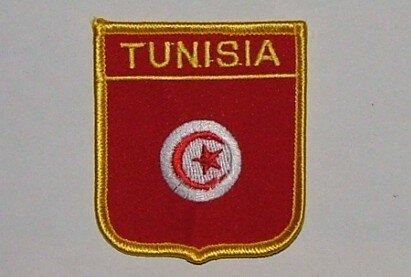 Wappenaufnäher Tunisia Tunesien