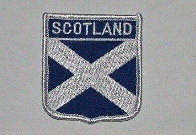 Wappenaufnäher Scotland Schottland