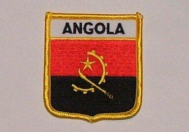 Wappenaufnäher Angola