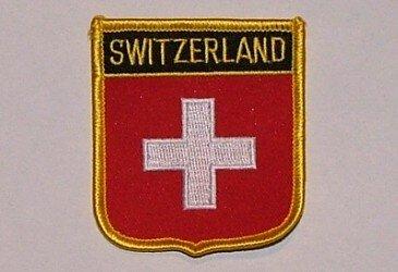 Wappenaufnäher Switzerland Schweiz